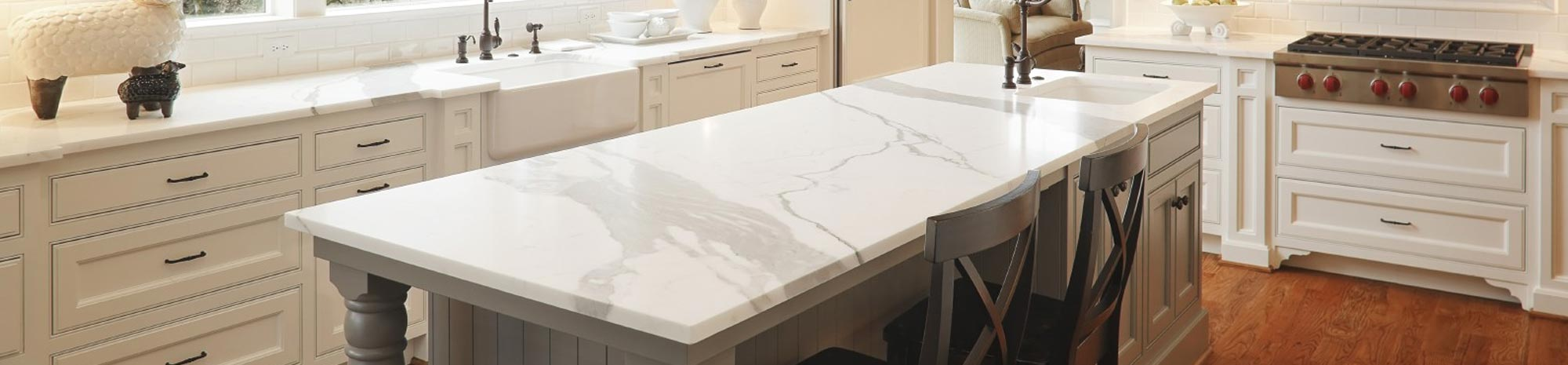 Chicago Chicago White Quartz Countertops : Licensed, Bonded and Insured